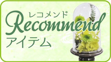 RECOMMENDアイテム